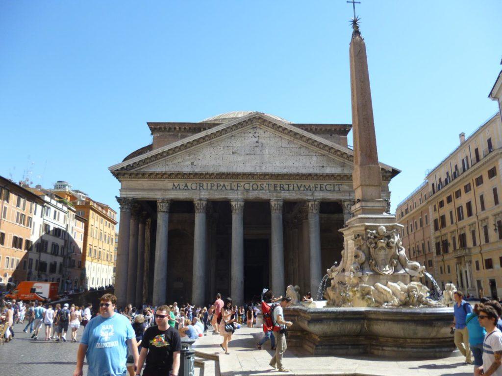 Pantheon o que fazer em Roma