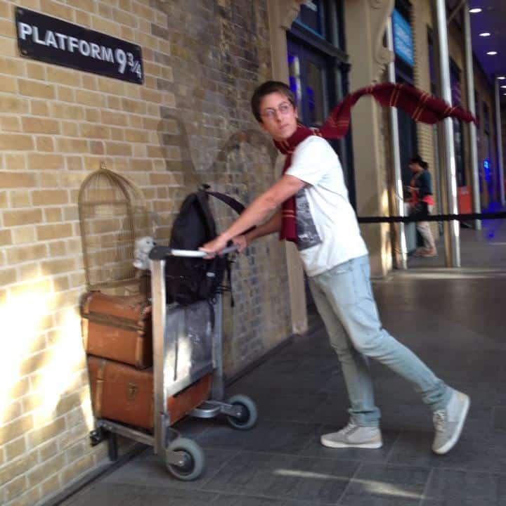 Diego Cabraitz Arena - Harry Potter em Londres