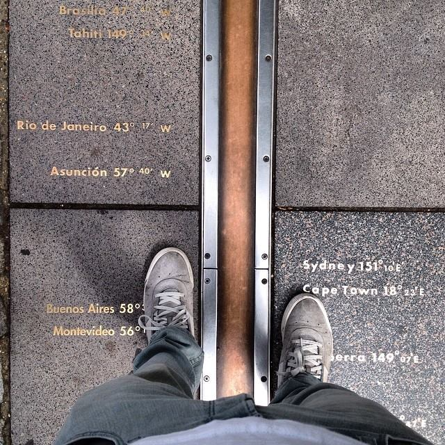 Meridiano de Greenwich.