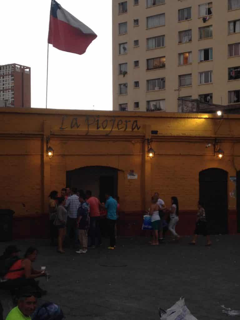 La Piojera em Santiago