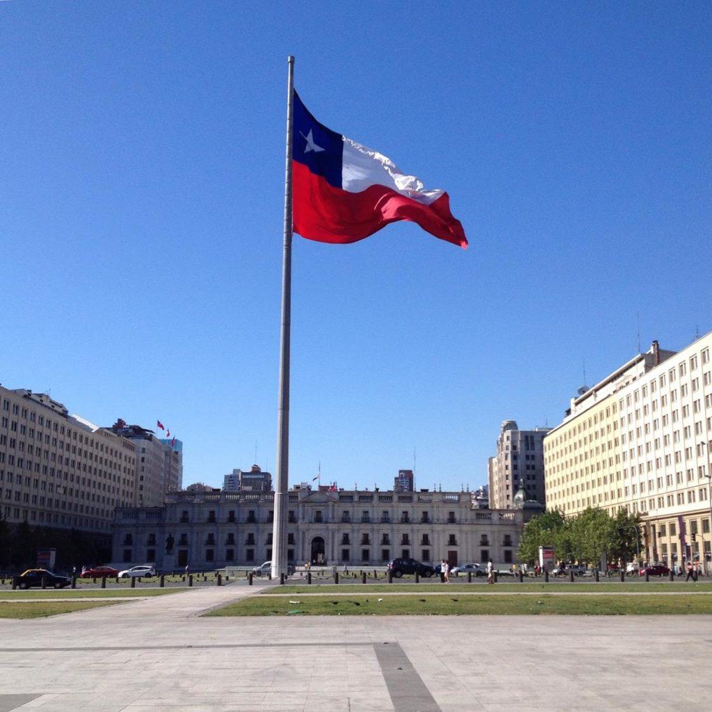 Palácio de La Moneda Santiago