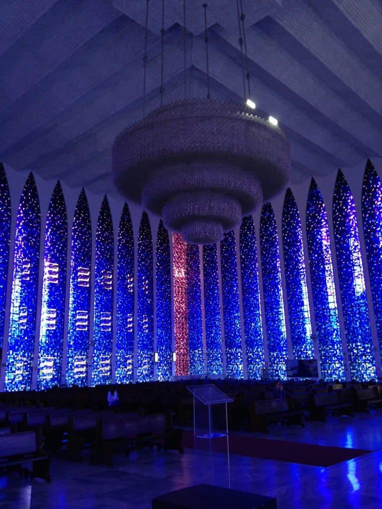 igrejas em Brasilia - Santuário Dom Bosco