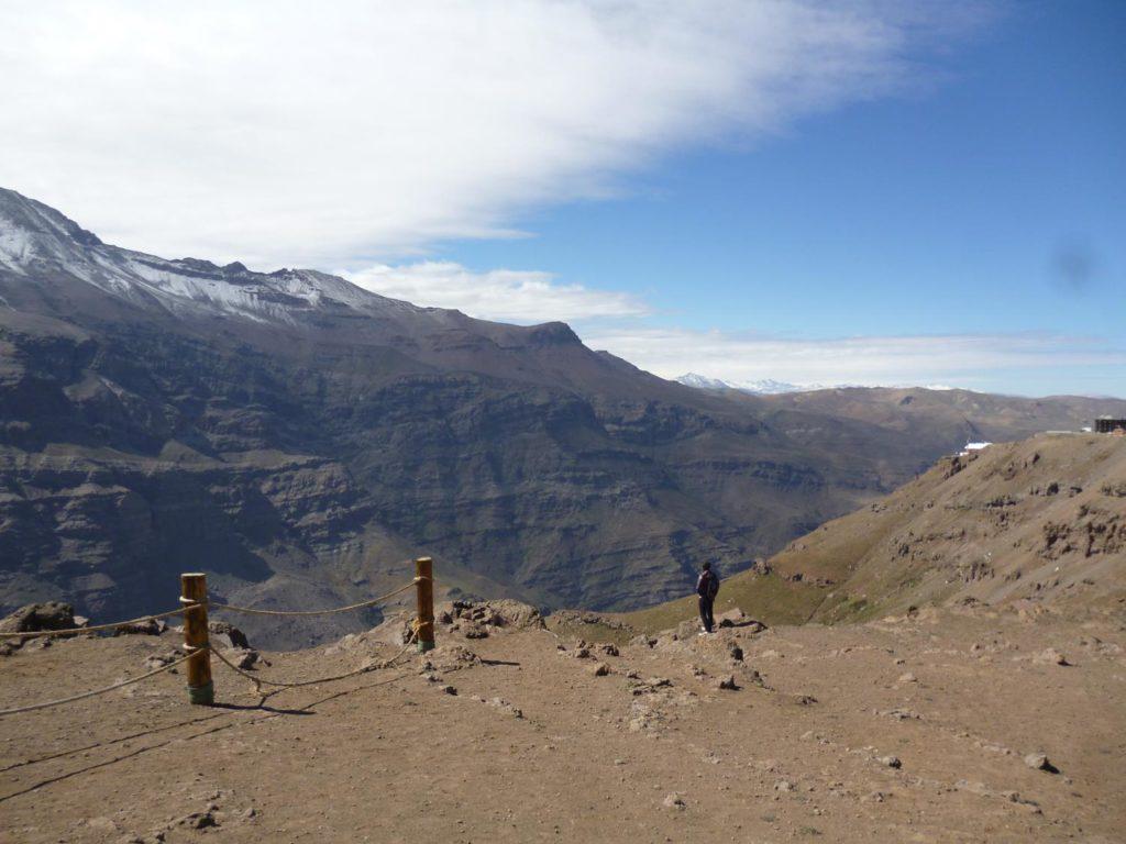 Valle Nevado sem neve