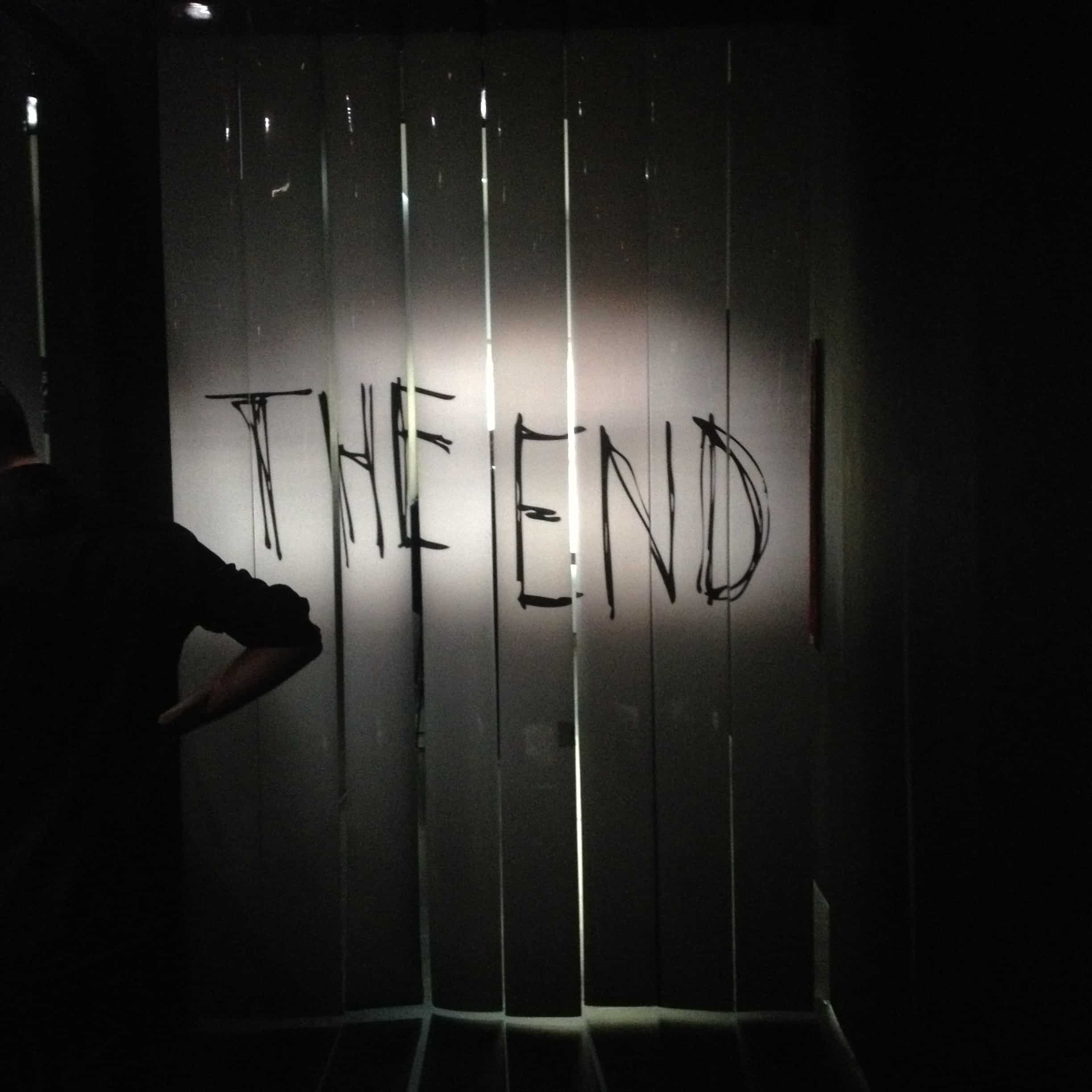 the end - O Mundo de Tim Burton