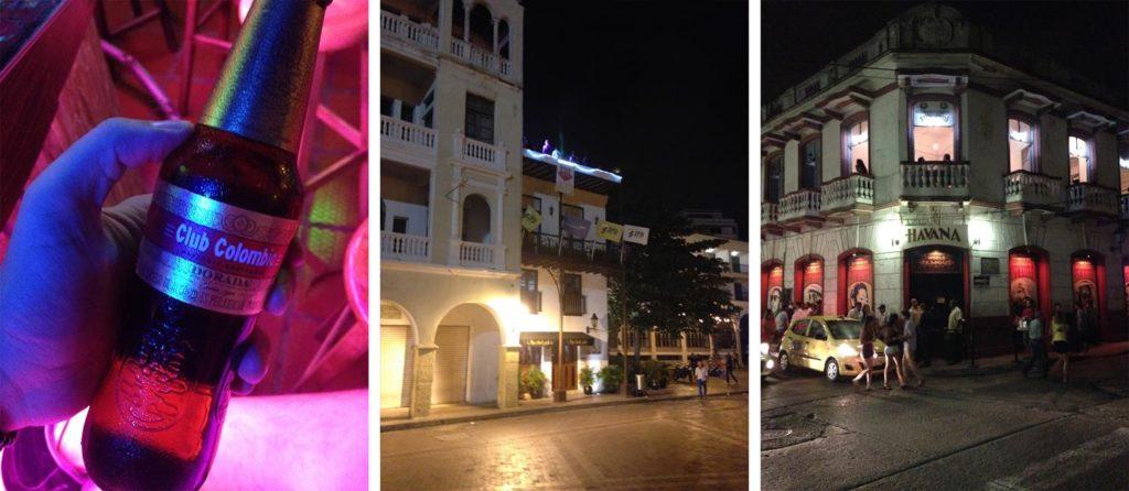 Vida noturna em Cartagena