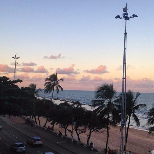 Praia de Boa Viagem em Recife
