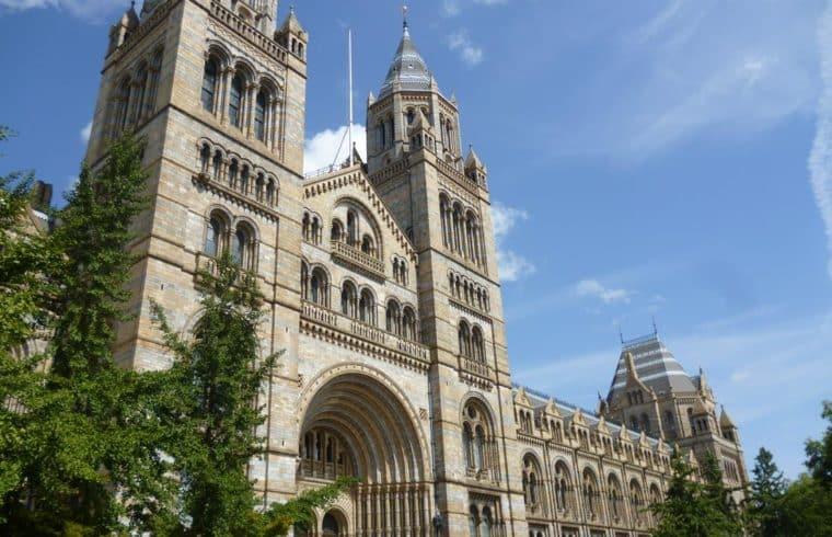museu de historia Natural Londres