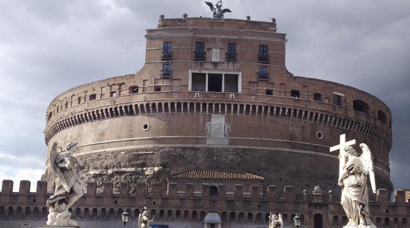 castelo em roma, filme anjos e demonios