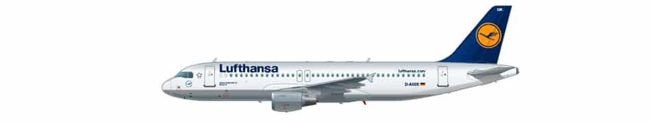 tipo de aviões - a320