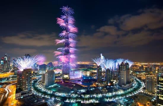 Ano novo em Dubai