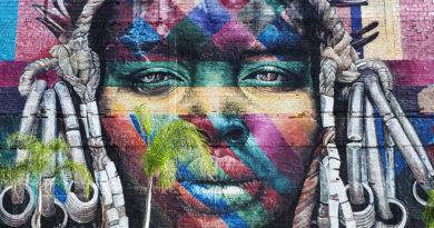 mural etnias rio de janeiro