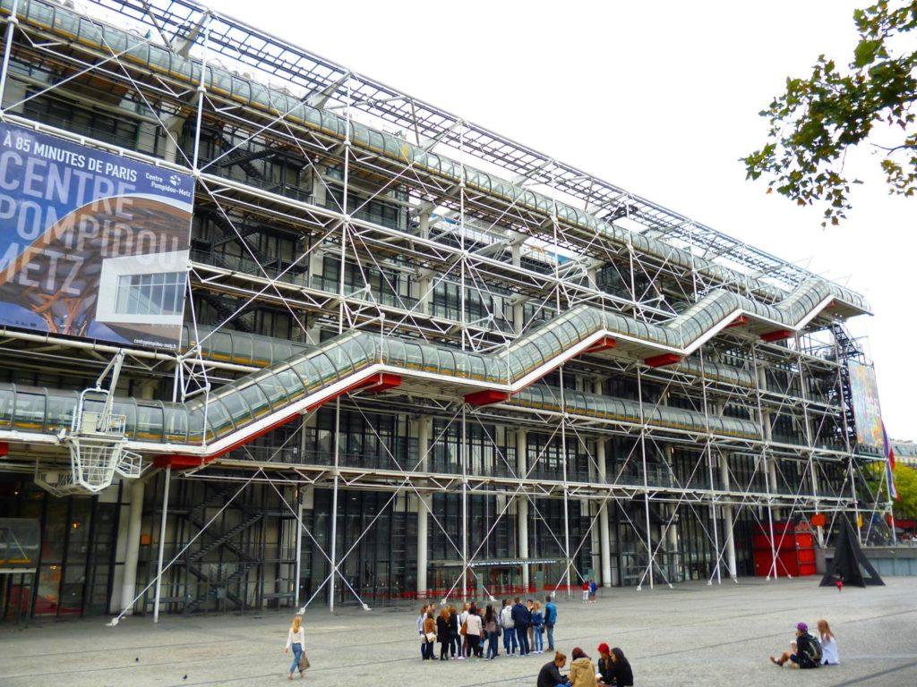 Centro George Pompidou - Museu em Paris