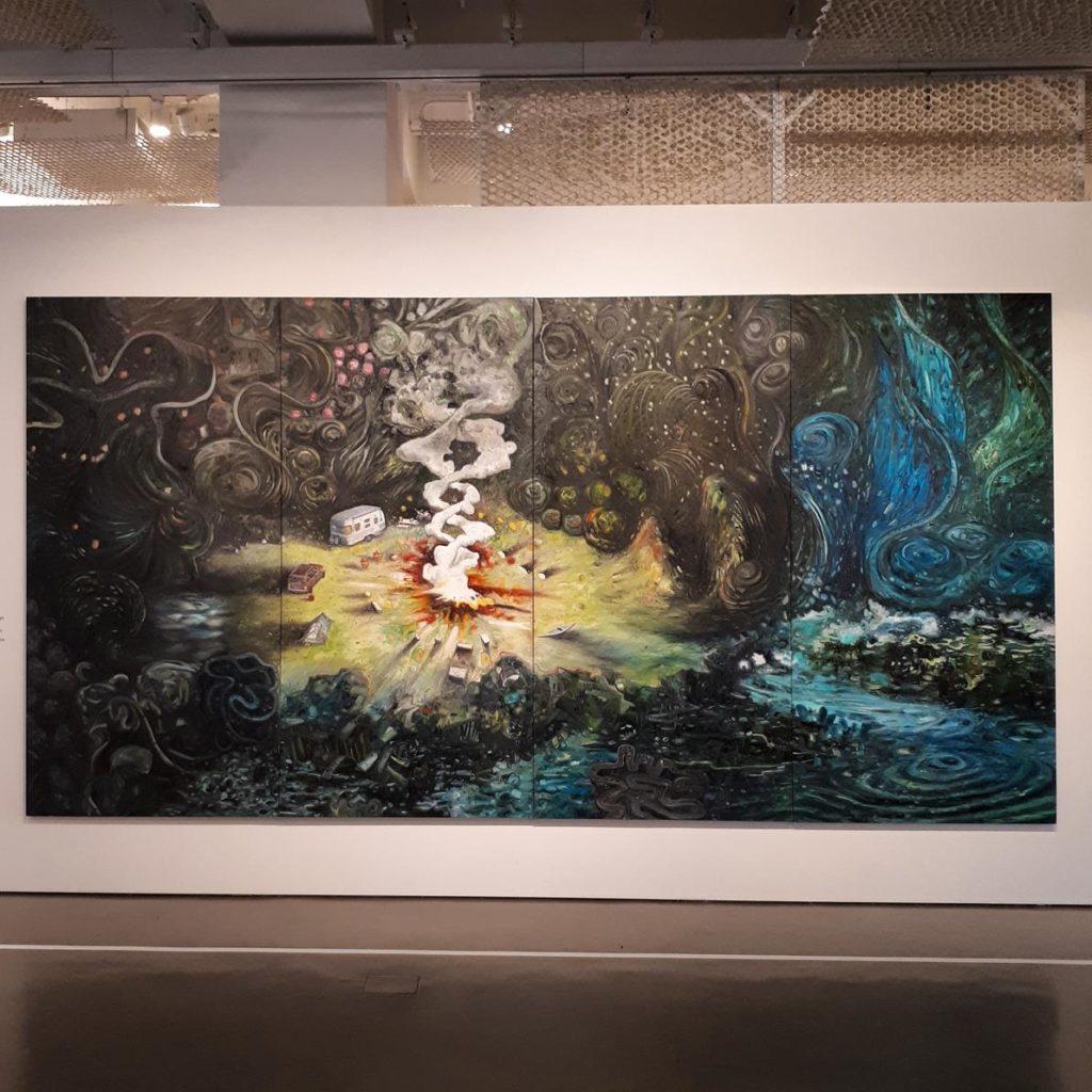 Exposição Oscar Oiwa - After Midnight