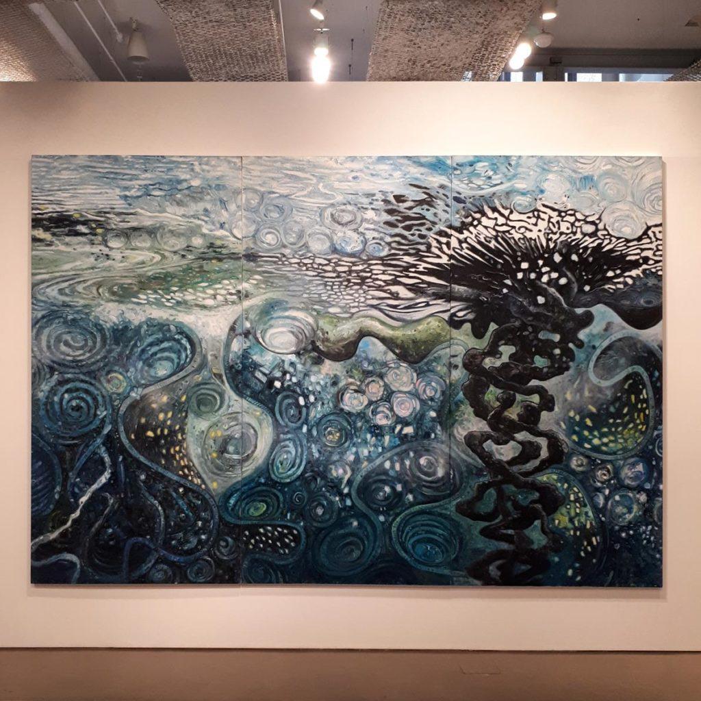 Exposição Oscar Oiwa - Invisible Sea