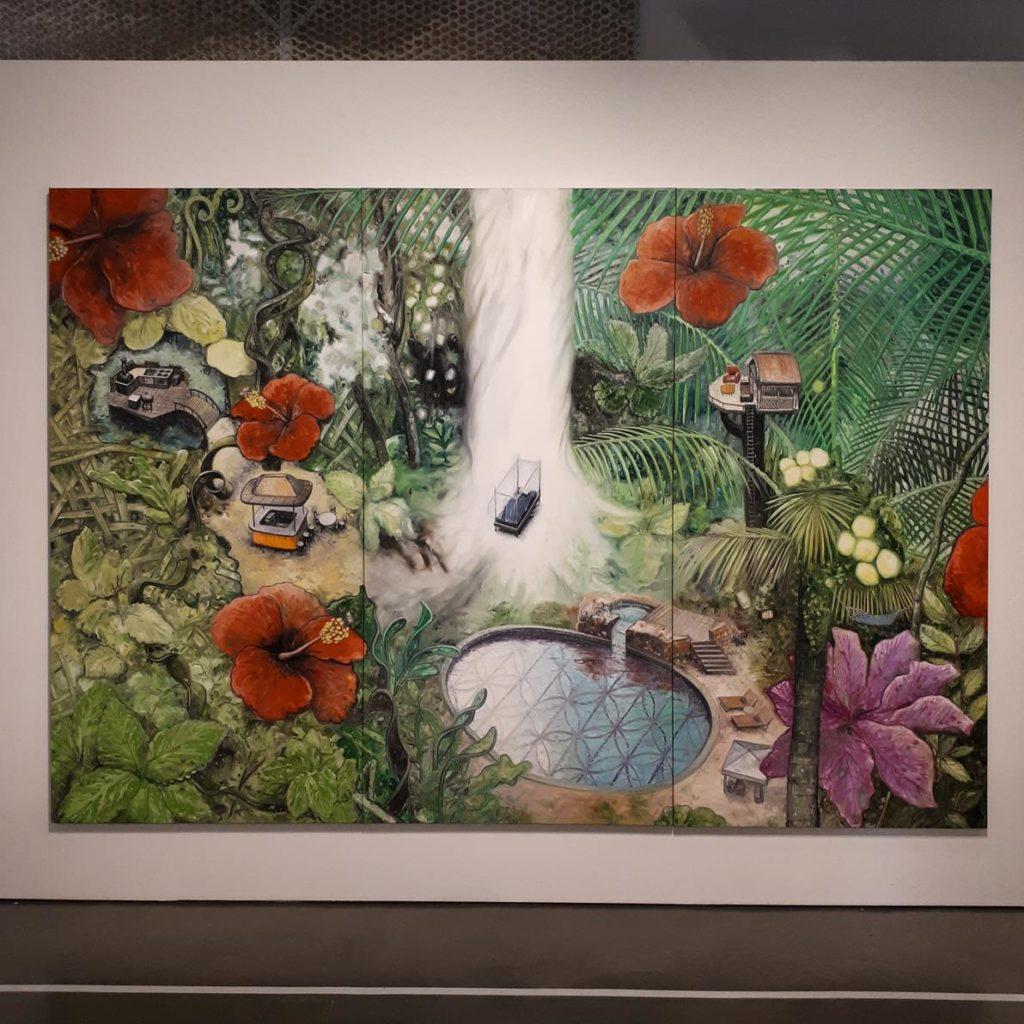 Exposição Oscar Oiwa - The dreams of a Sleeping World