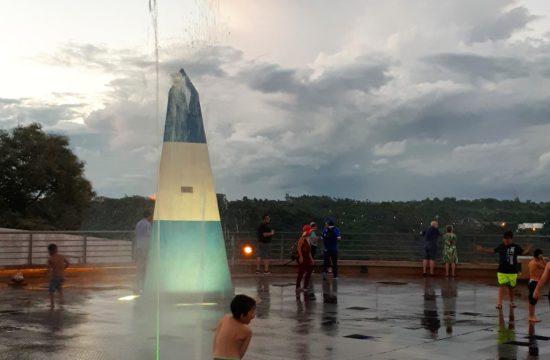 Marco das Três Fronteiras em Puerto Iguazu