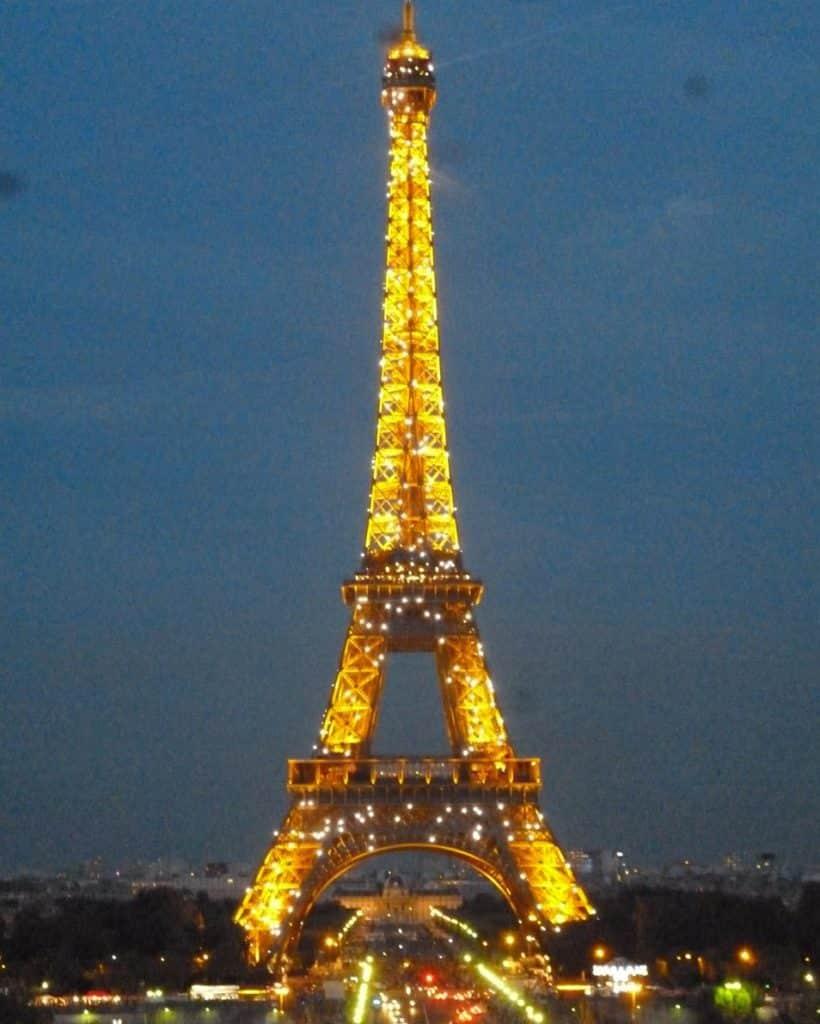 Show de luzes Torre Eiffel
