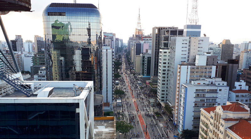 vista do SESC Avenida Paulista