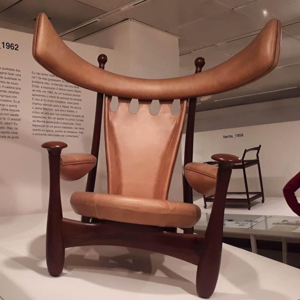 Cadeira Chifruda Sérgio Rodrigues