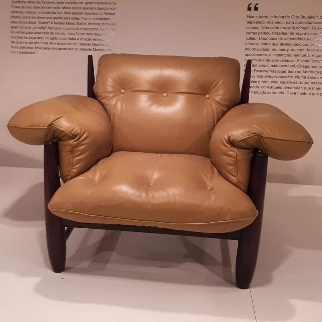 Cadeira Mole Sérgio Rodrigues