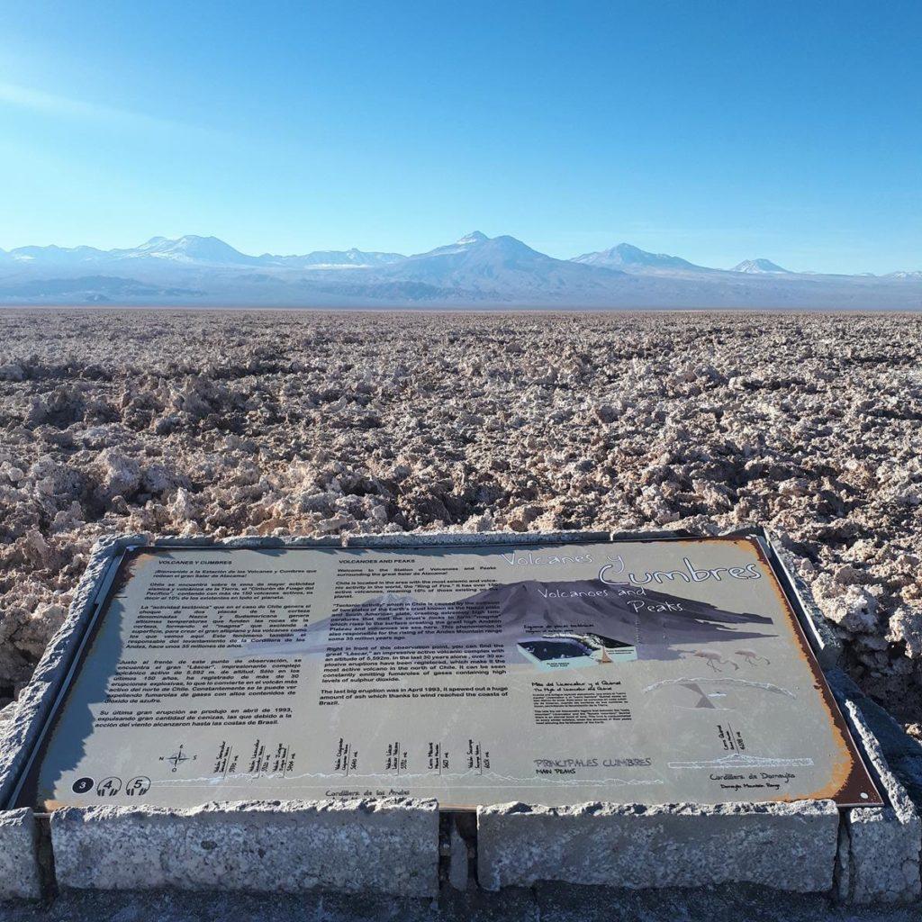 Laguna Chaxa no Atacama