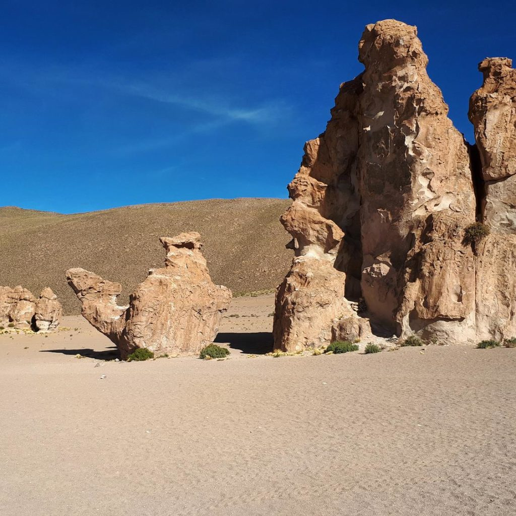 Dia 2 Salar de Uyuni - Pedra do Camelo
