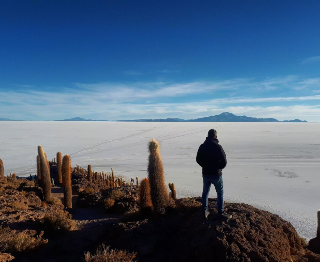Ilha dos Cactos Salar de Uyuni