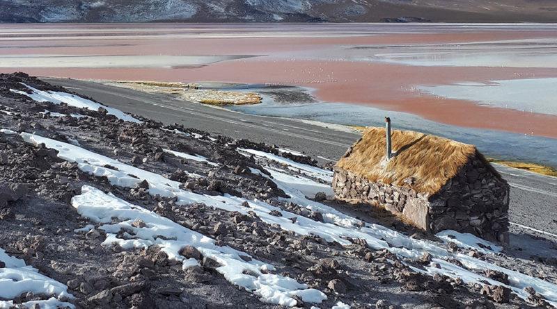 como é o salar de uyuni, Laguna Colorada Bolívia