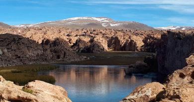 tour salar de uyuni, Laguna Negra Bolívia