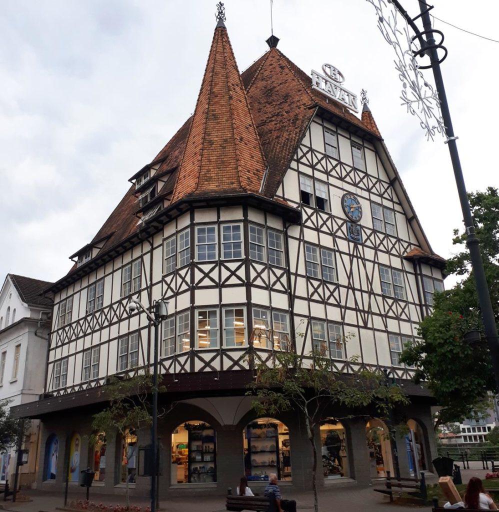 Ponto turístico de Blumenau