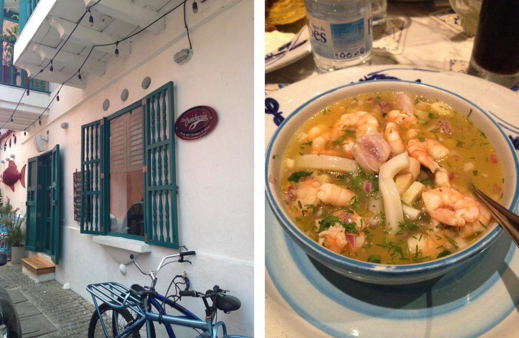 O que comer em Cartagena