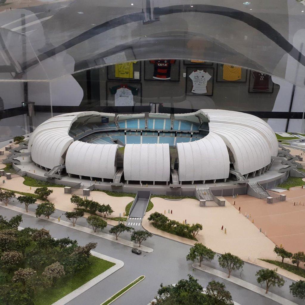 Maquete Arena das Dunas