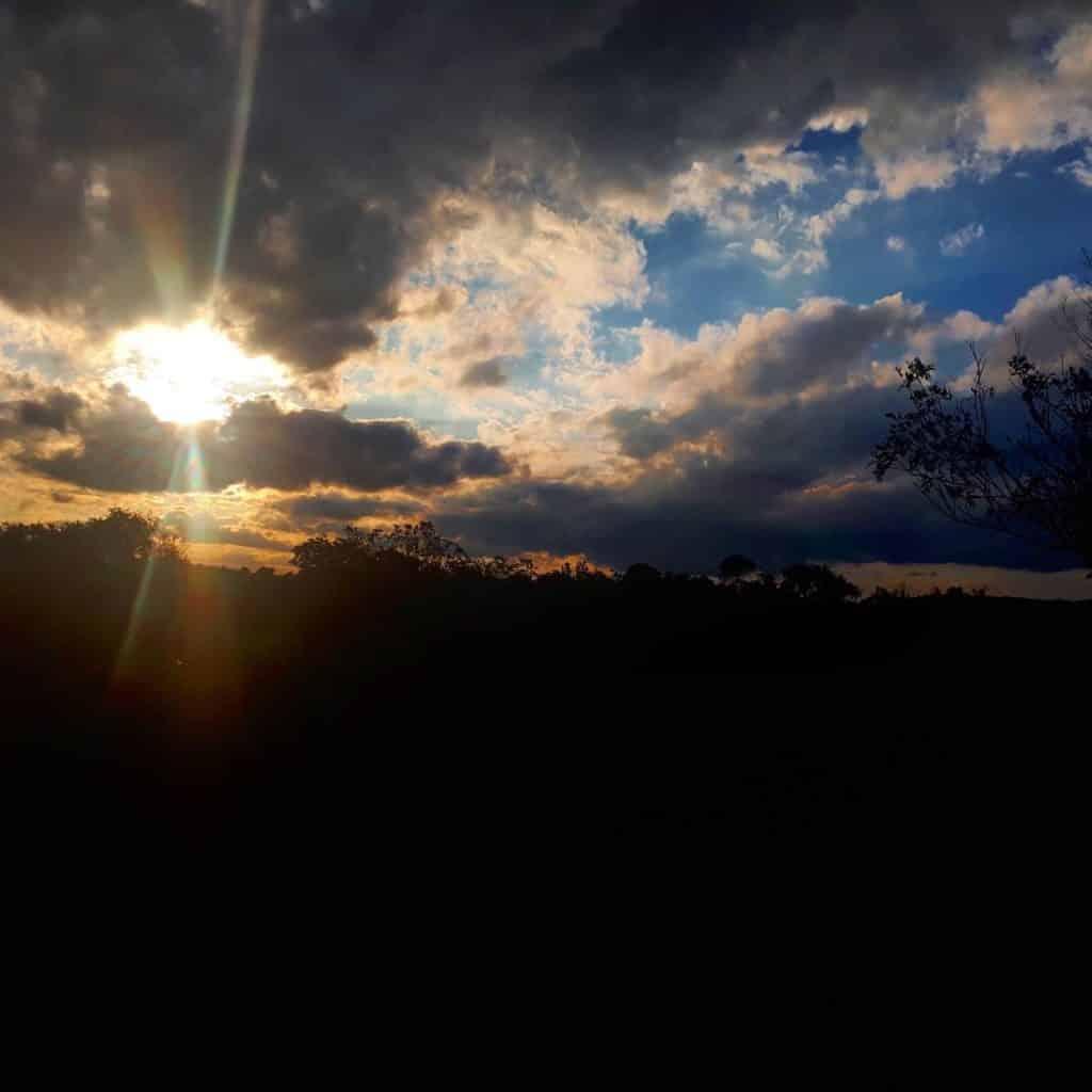 Por do Sol em Morretes