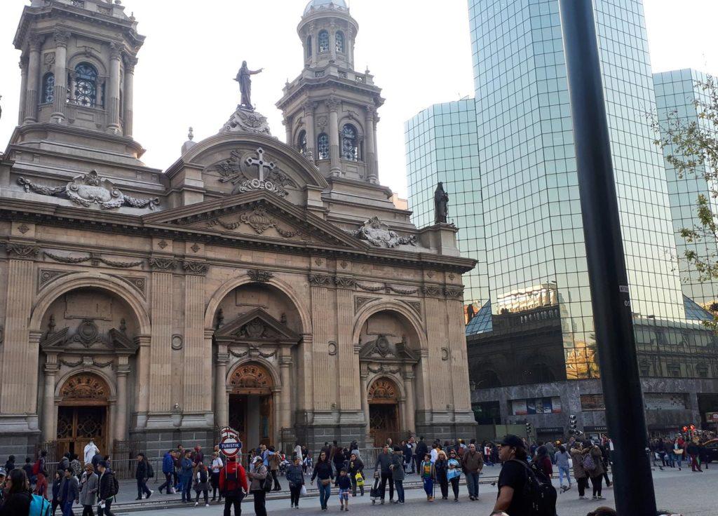 Roteiro em Santiago Chile, Plaza de Armas