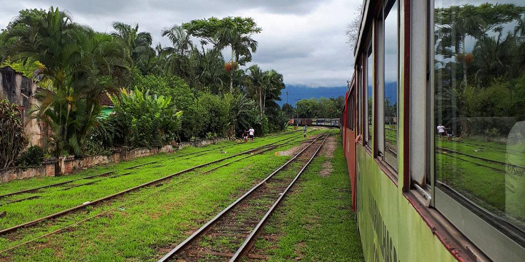 Trem de Morretes até Curitiba