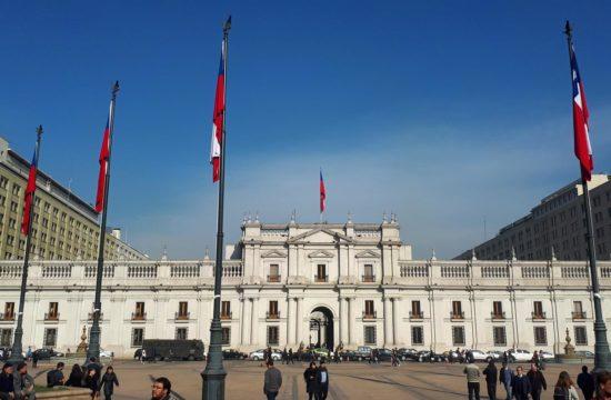 Roteiro de Santiago, Chile, Palácio de La Moneda