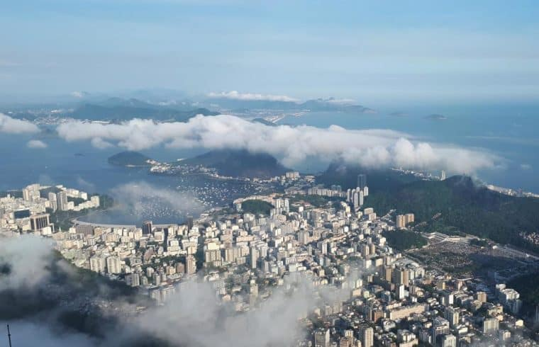 Vista do Corcovado