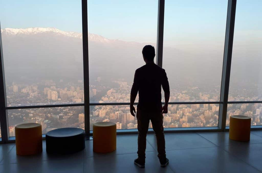 Mirante em Santiago do Chile, Costanera Center