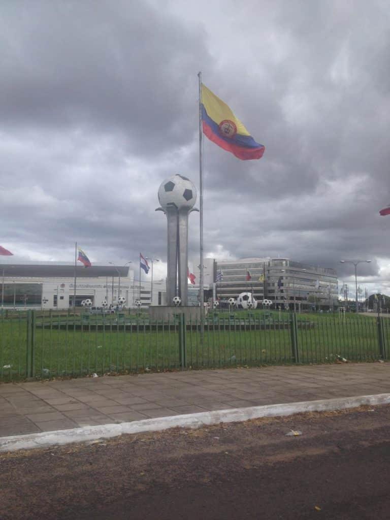 Futebol no Paraguai - Conmebol