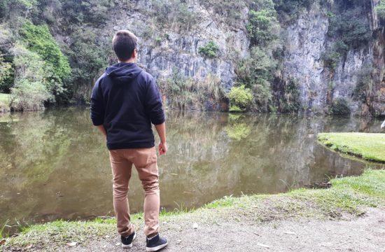 Diego Arena lago em curitiba