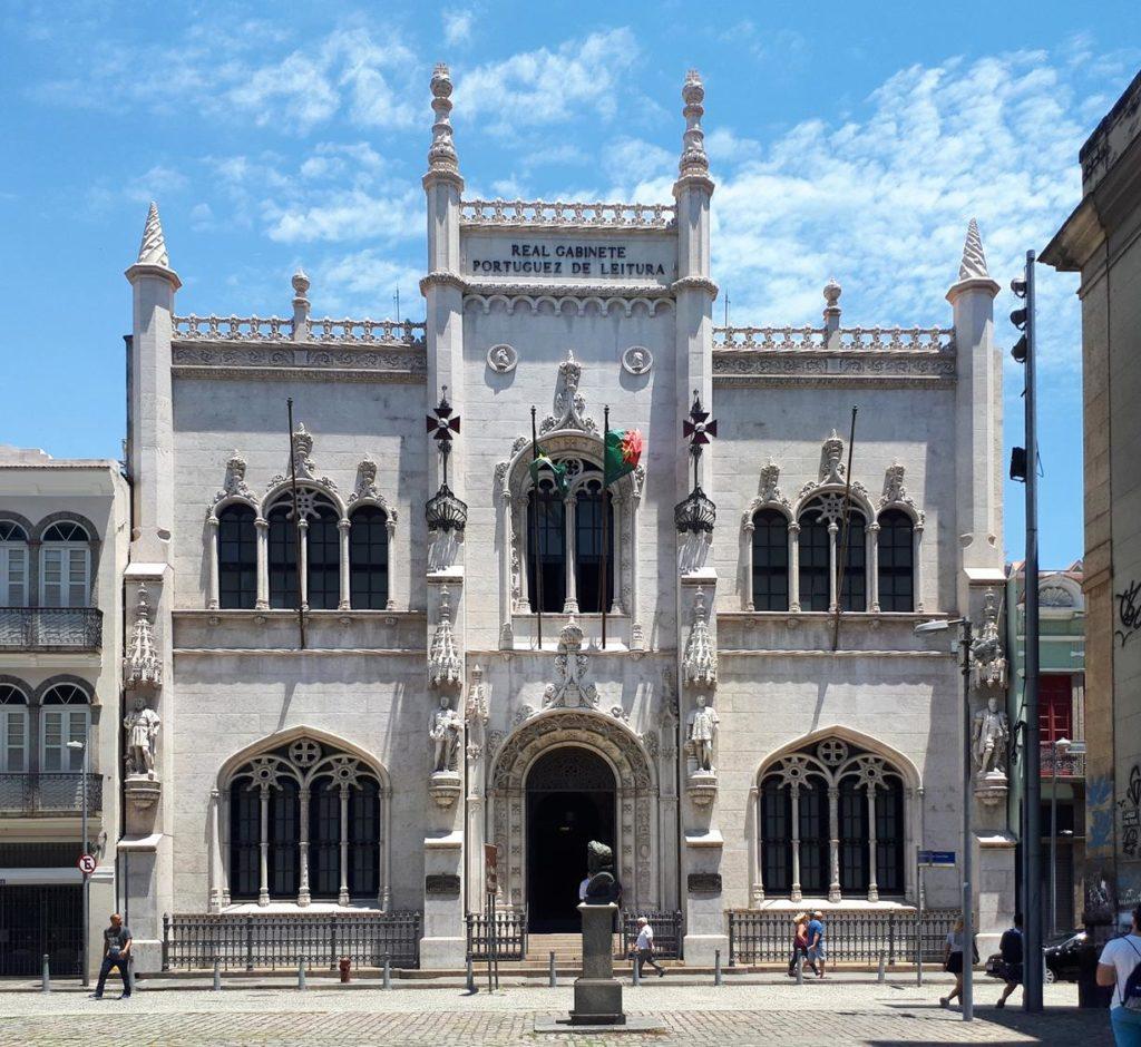 museus no rio de janeiro, real gabinete portugues de leitura