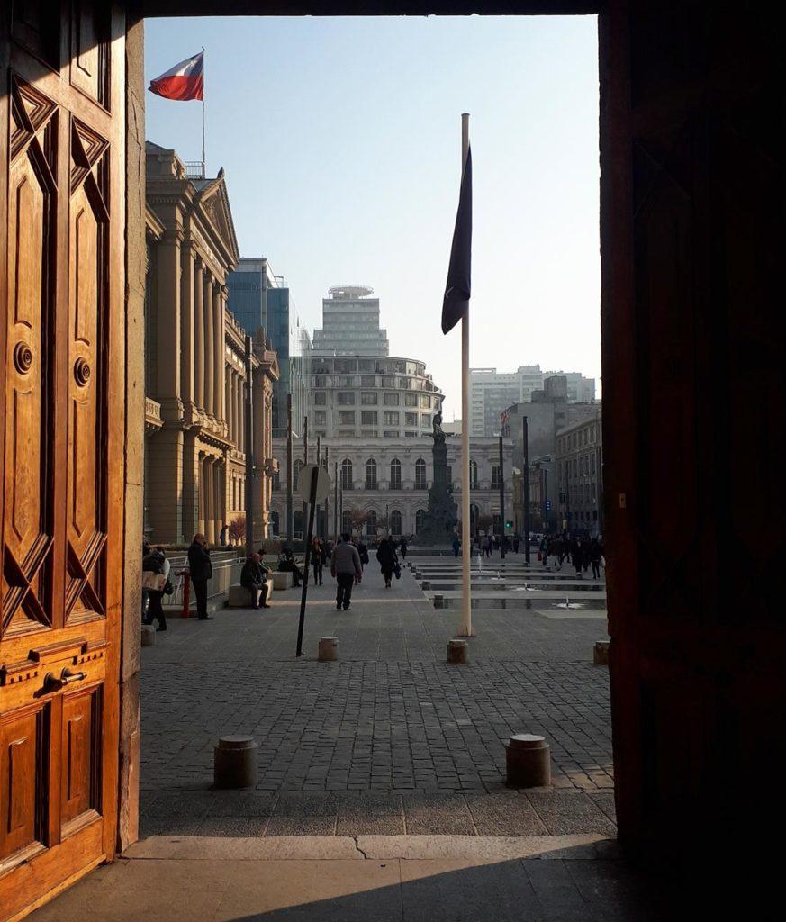 Museu em Santiago do Chile
