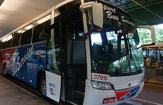Ônibus até o Aeroporto de Guarulhos