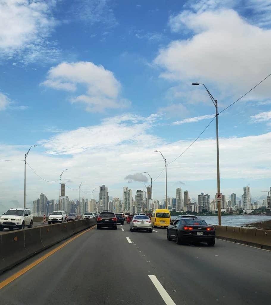 conexão no panama - Skyline Cidade do Panamá