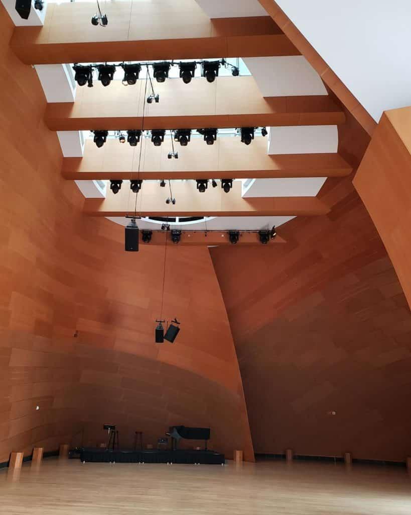 auditório walt disney concert hall - projeto Frank Ghery