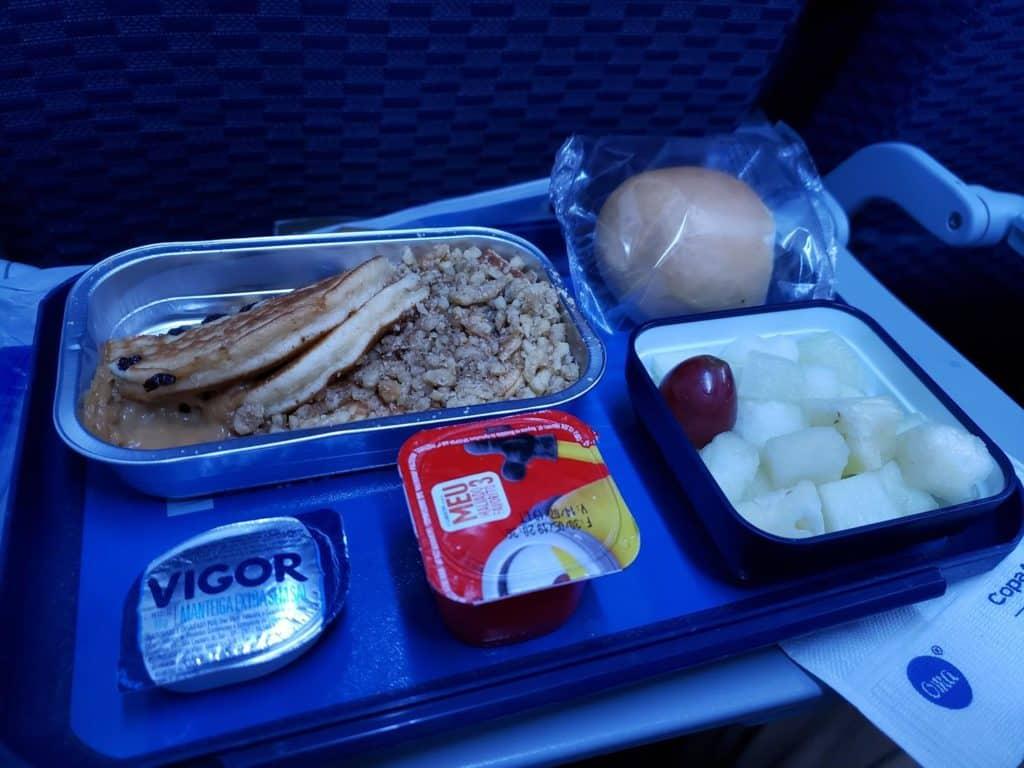 Café da manhã Copa Airlines