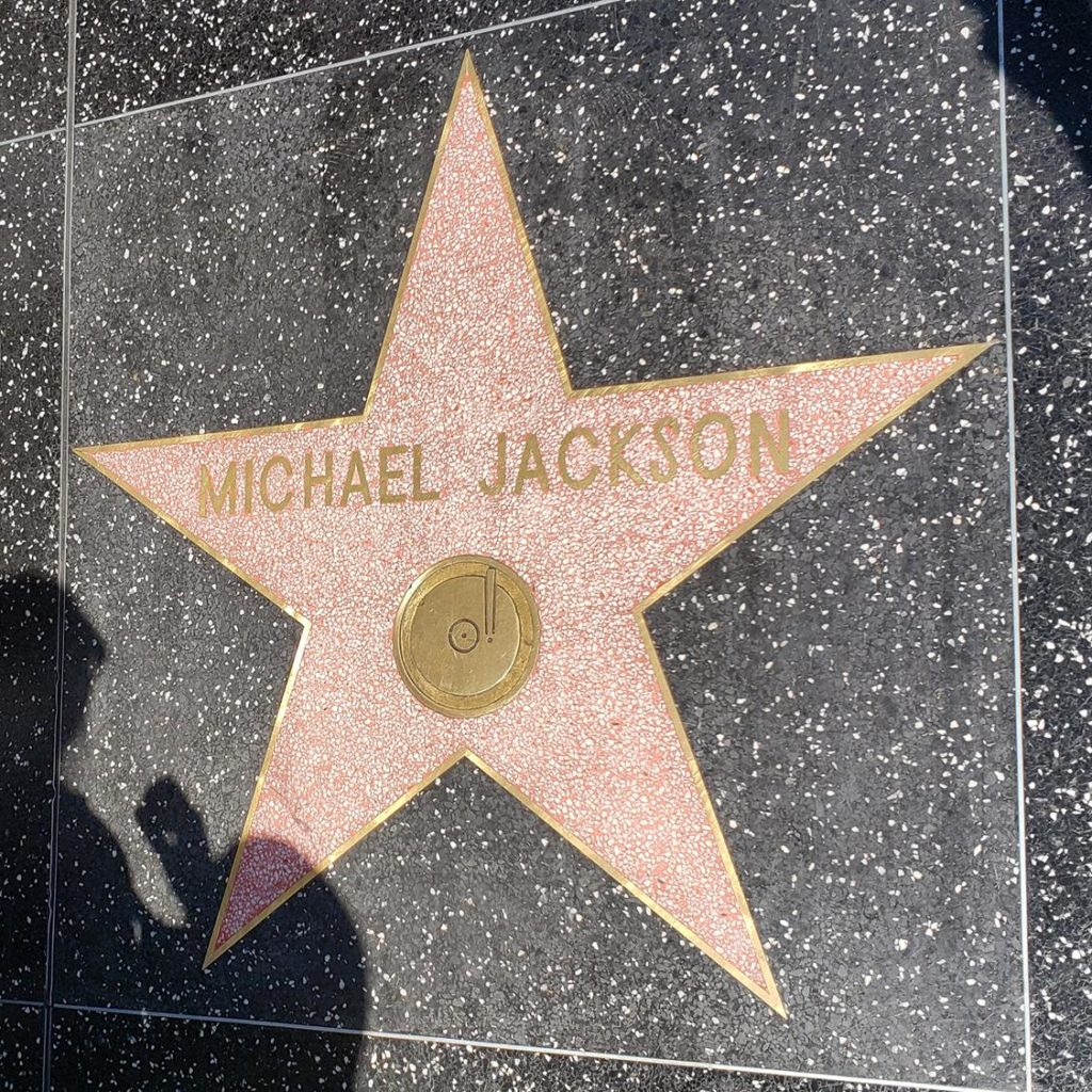 Calçada da Fama - Michael Jackson
