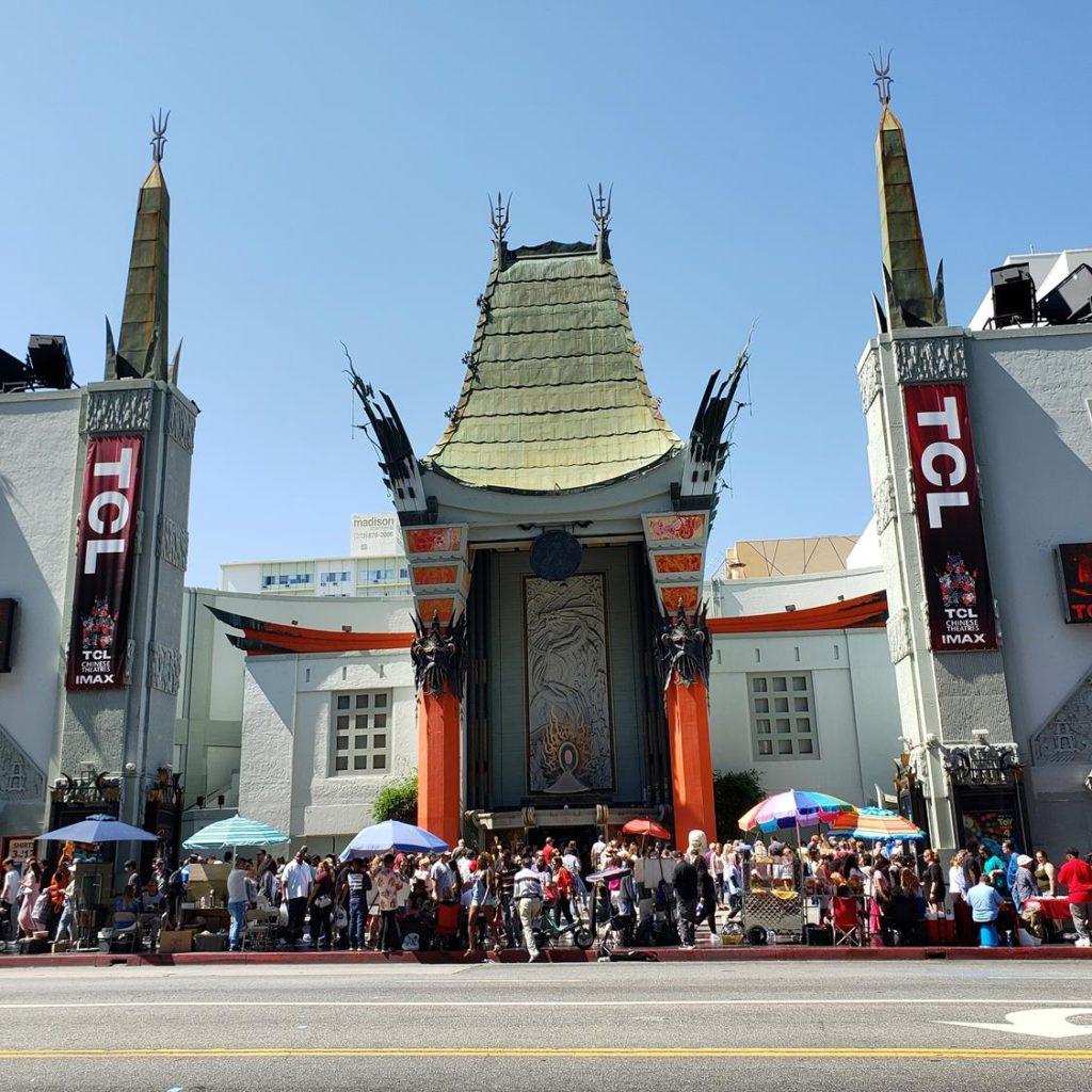 o que fazer em Los Angeles - chinese theather