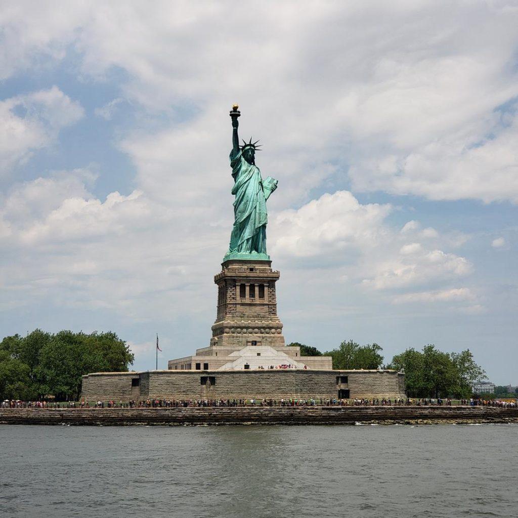 Passeio de Barco em Nova York - Estatua da Liberdade