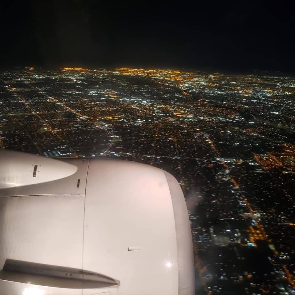 Pousando em Los Angeles Copa Airlines